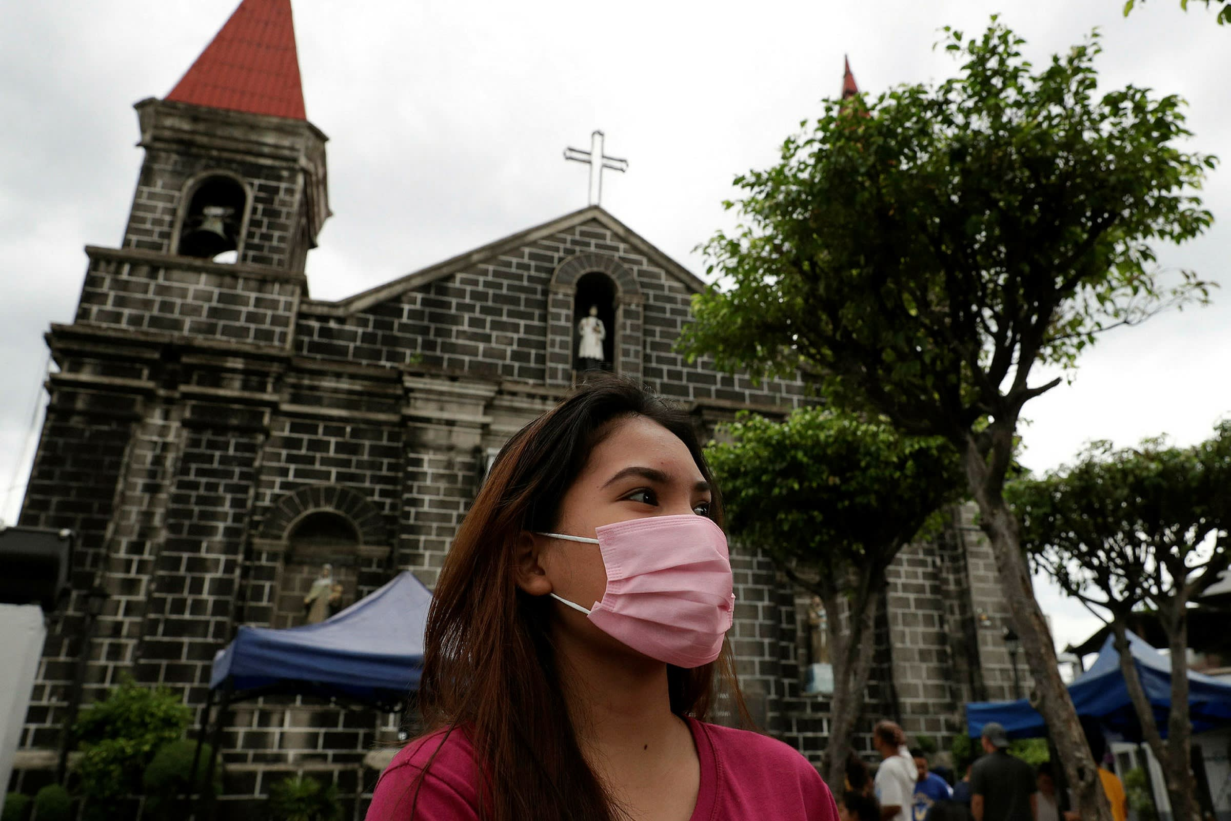 The Philippines faces tougher rules on mass gatherings, such as church services
