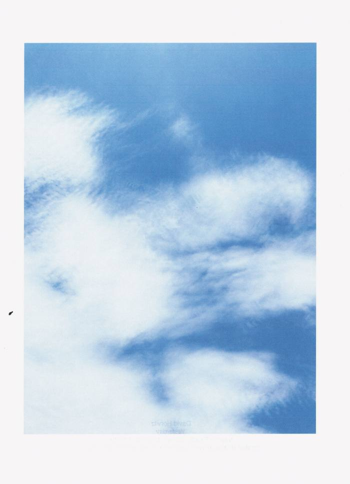 Yesterday, 2021, by David Horvitz, sold for just one day at Librairie Yvon Lambert, Paris