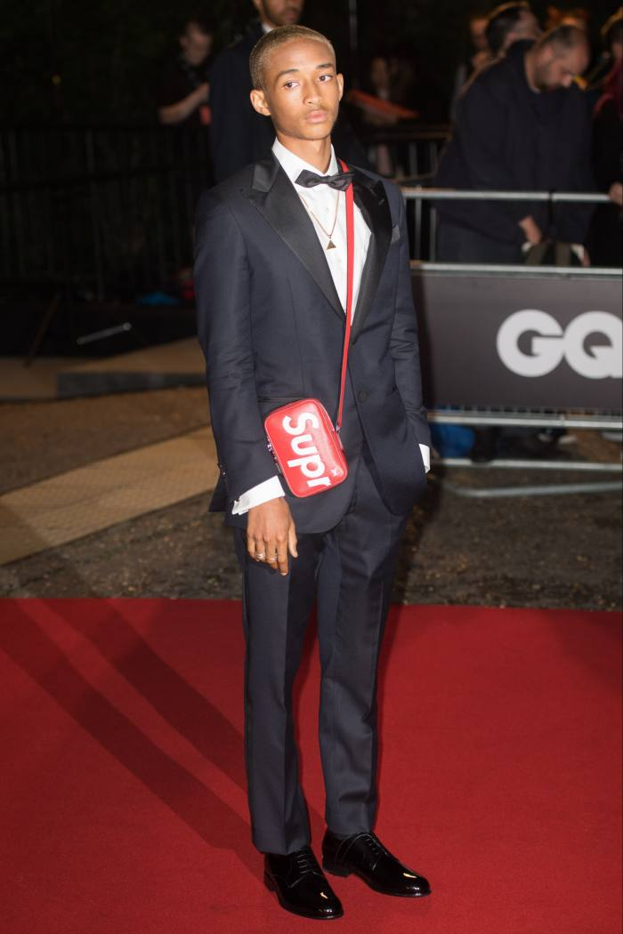 Jaden Smith assiste aux GQ Men of the Year Awards à Londres, 2017