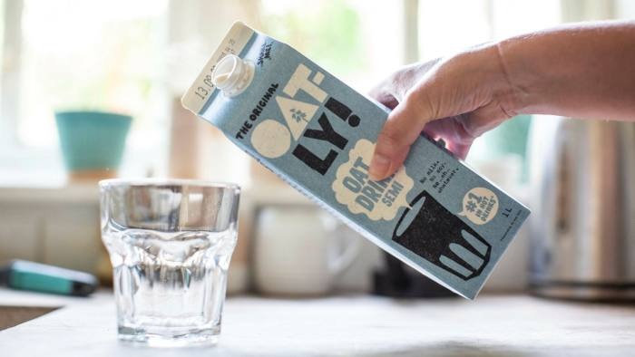 Oatly chief faces test as oat milk goes public with $10bn valuation |  Financial Times