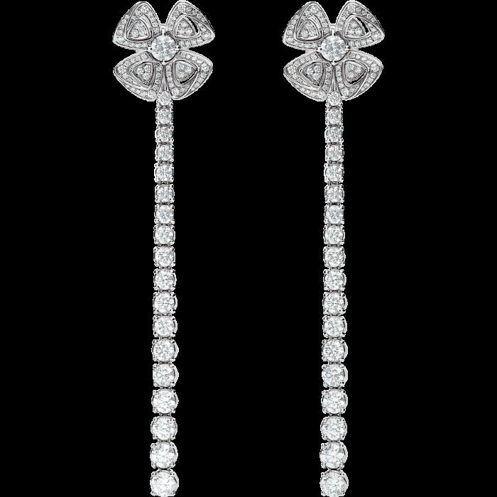 Bulgari white gold and diamond Fiorever earrings, £ 23,700