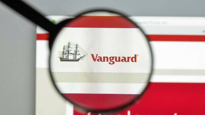 A Vanguard online logo