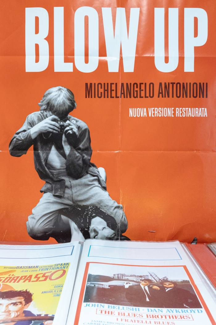 A poster of Antonioni's Blow Up