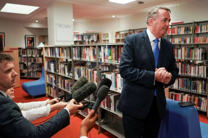 Liam Fox insisted in 2017 he would sign 40 trade deals 'one second after midnight' on Brexit day