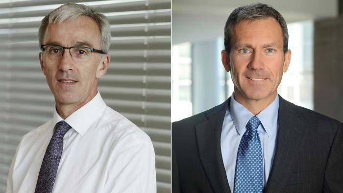 Dr Richard Heron, CMO at BP, and Dr Brent Pawlecki, chief health officer at Goodyear