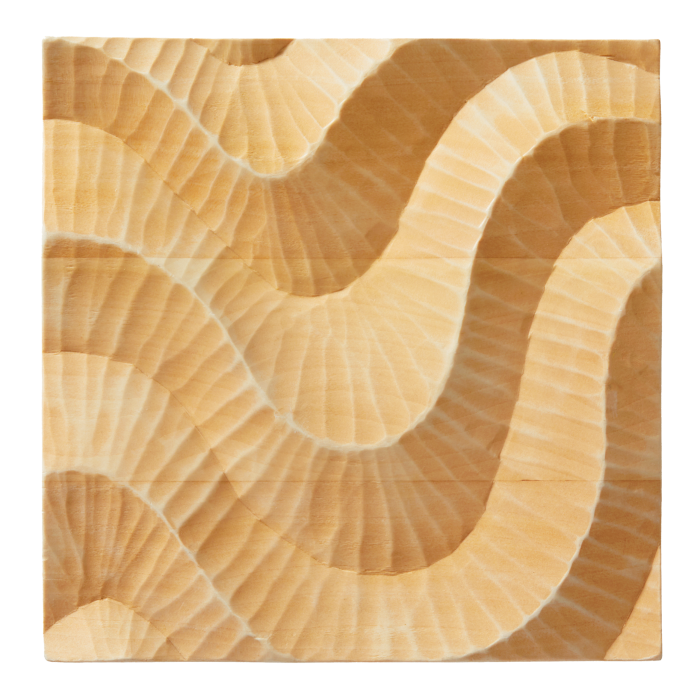 Fameed Khalique engineered 3D wood tiles, from £1,595 per sq m