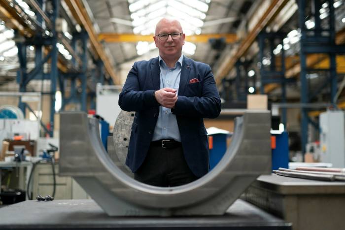 Dr Tony Bannan, chief of Precision Technologies Group