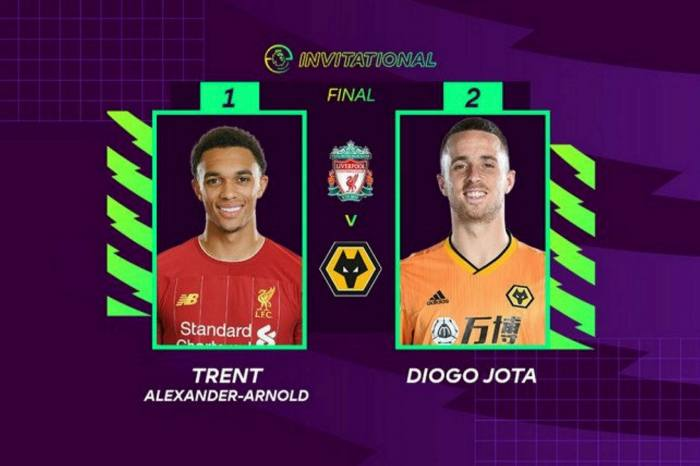 Diogo Jota, the real-life striker who now plays for Liverpool, won the English Premier League's esports tournament in April