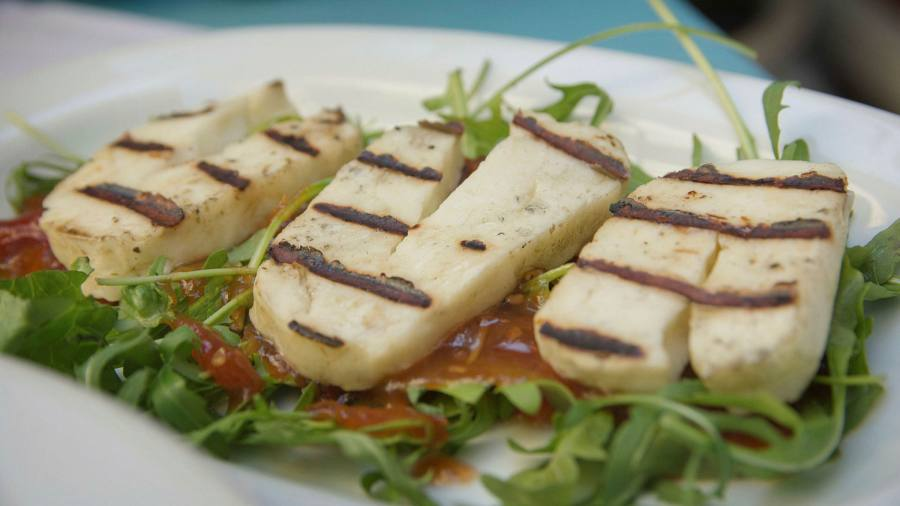EU is facing a grilling over halloumi