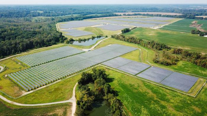 Sunny side up: the Hollyfield solar plant fulfils all the power needs of Darden School of Business
