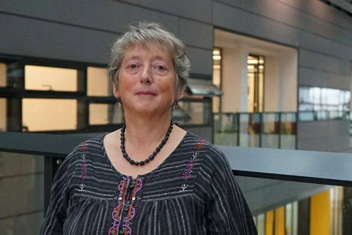Philippa Browning of the UCU says: 'Every university was afraid of losing students, and the idea was to offer face-to-face [teaching] so the students didn't drop out. Anyone with any sense knew that wasn't possible — we were already in lockdown'