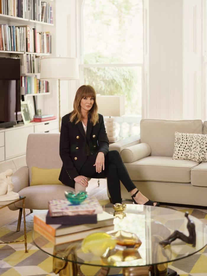 Lauren Gurvich King at home in London