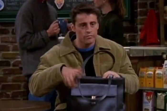 Matt LeBlanc comme Joey Tribbiani dans le sit-com Friends, 1999