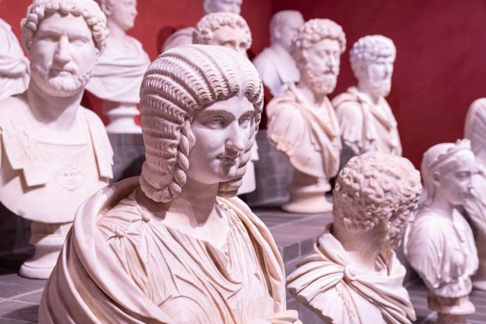 The Torlonia Marbles are on public view in Rome for the first time since 1940