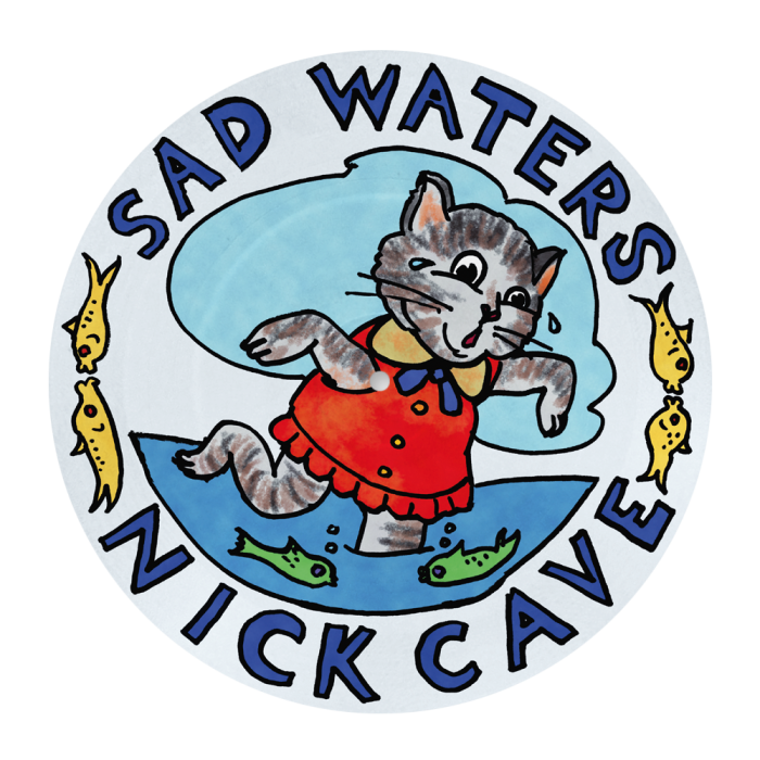 """""""Sad Waters"""" limited-edition 7in picture disc vinyl, £30"""