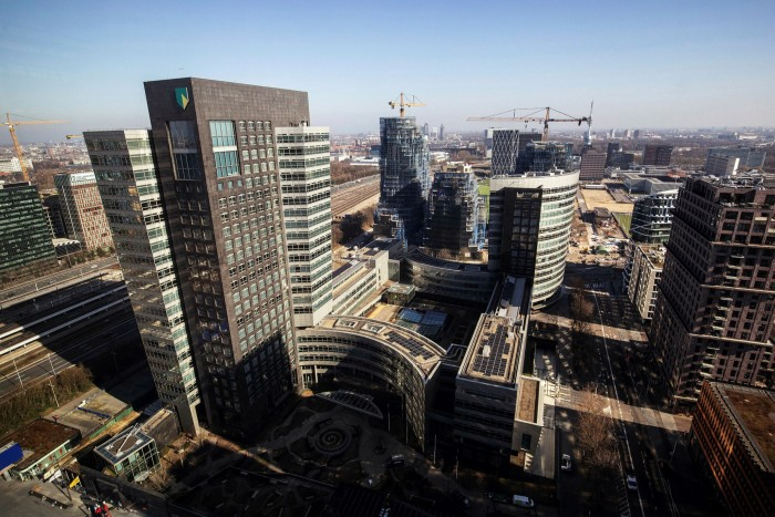 Amsterdam's Zuidas financial district. Traders like The Netherland's governance and its regulatory framework, which they say are more market-friendly than other European jurisdictions