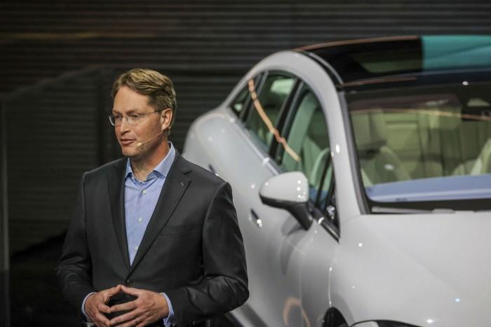 Ola Kallenius, chief executive of Mercedes owner Daimler