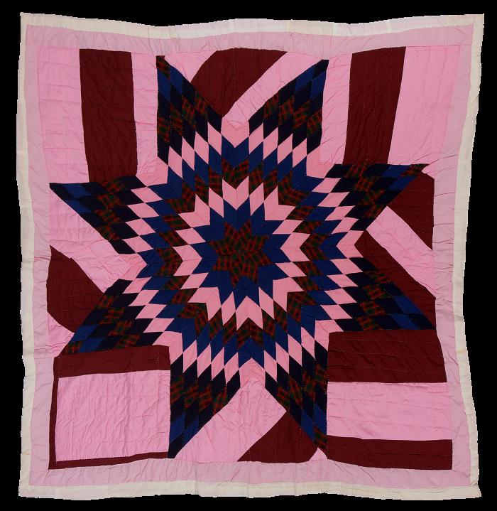 Gee's Bend quilt, c1985, by Stella Mae Pettway