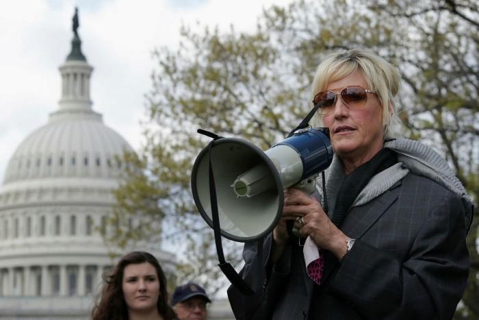 US legal clerk Erin Brockovich