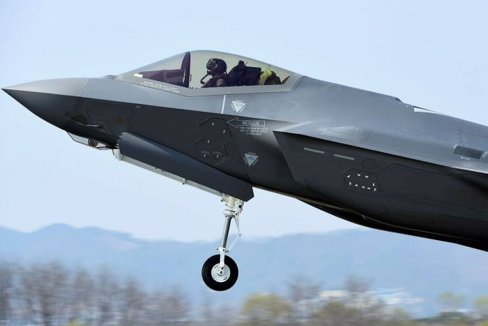 An F-35 fighter built by Lockheed Martin. Rare earths are key constituent of the plane but China accounts for 80 per cent of the global mined supply of these crucial metallic elements