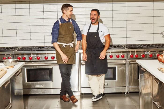Bon Appetit's Chris Morocco and Andy Baraghani