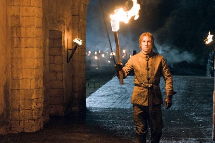 On his role as Edmure Tully in 'Game of Thrones': 'I dived in and out, plugging into something that was very, very highly realised already'