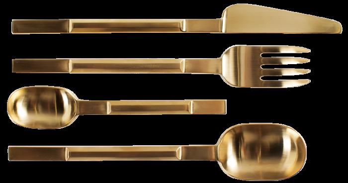 Valerie Objects Futatsumata cutlery,£180, monologue.com