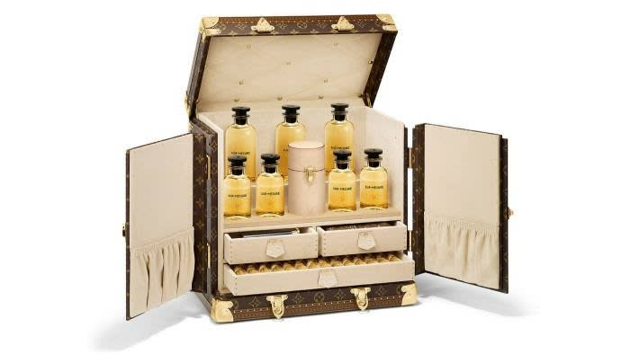 The Louis Vuitton made-to-order fragrance trunk