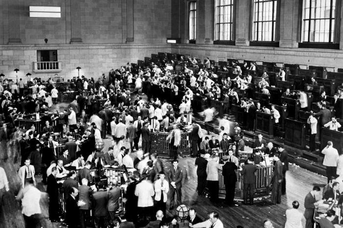 Wall St traders 1929