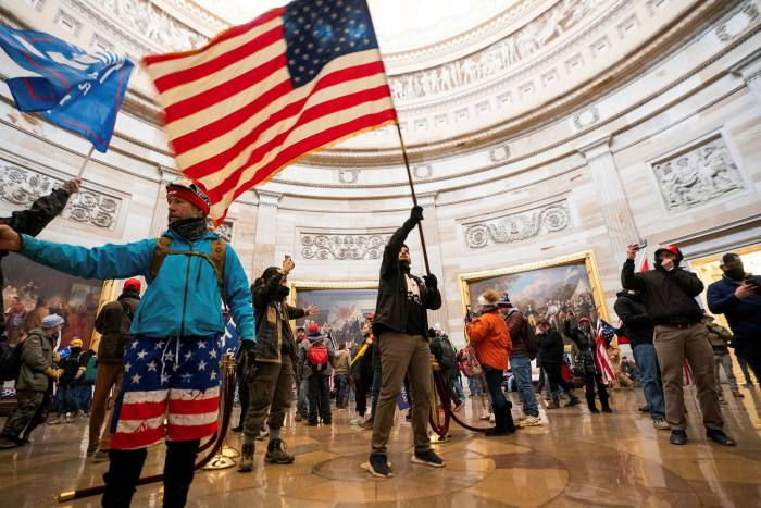 The idea that the authorities should respond to the storming of the Capitol by regulating hate speech has been widely dismissed in the US, where First Amendment rights are jealously guarded