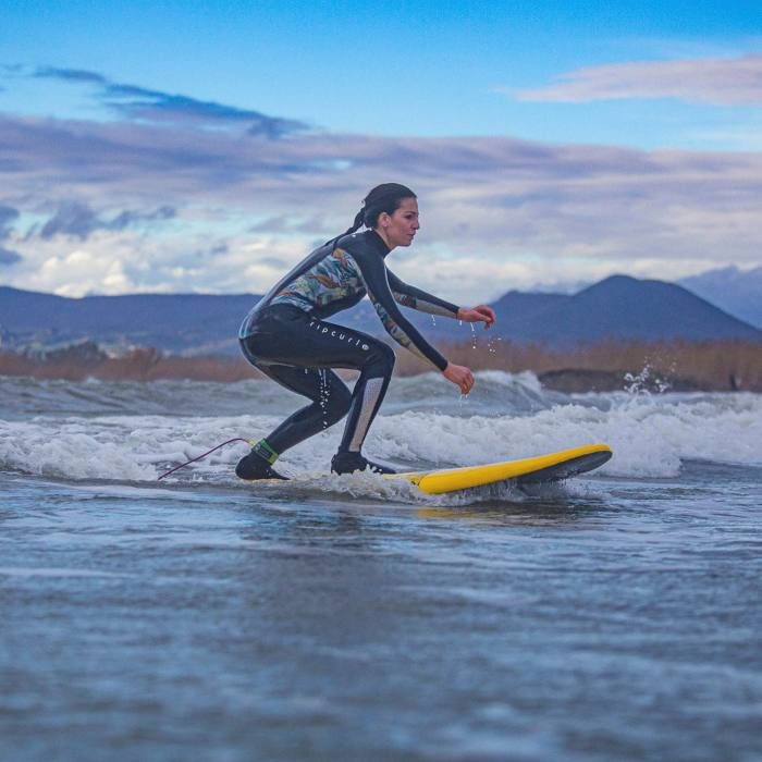 Learn to surf with Barefoot Scuola di Surf and afterwards...