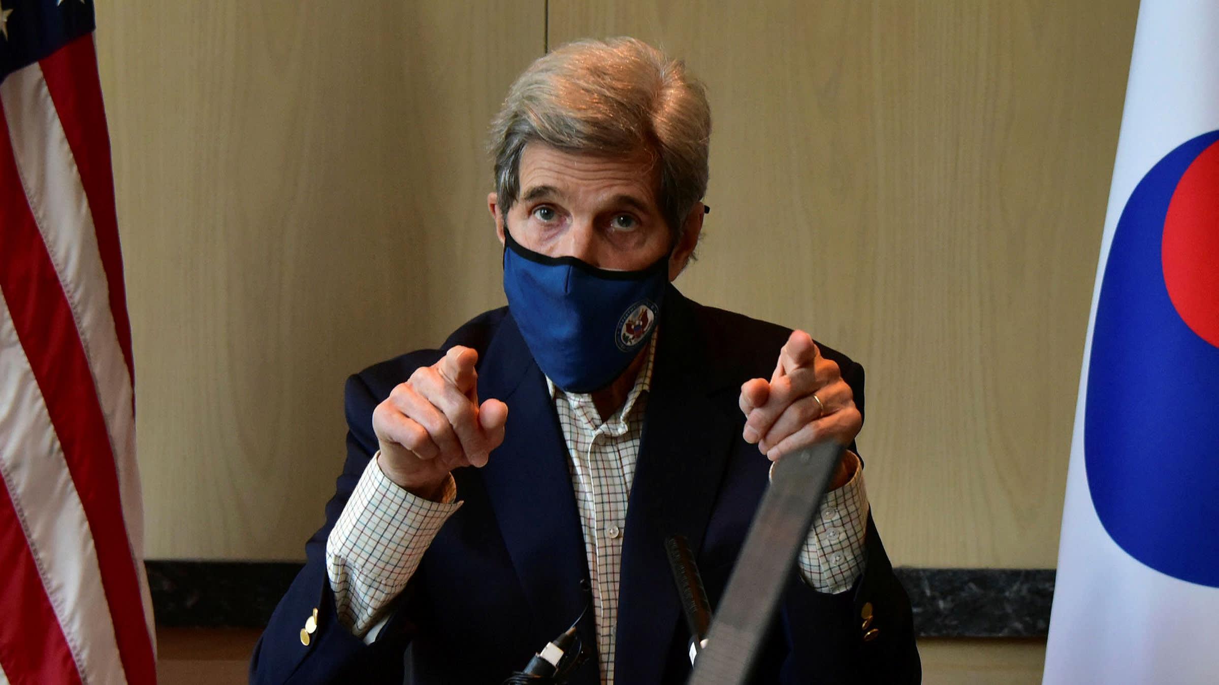 John Kerry: Banks will be held accountable for net zero pledges