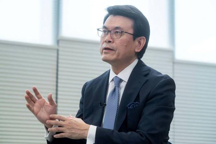 Edward Yau, Hong Kong's secretary for commerce and economic development
