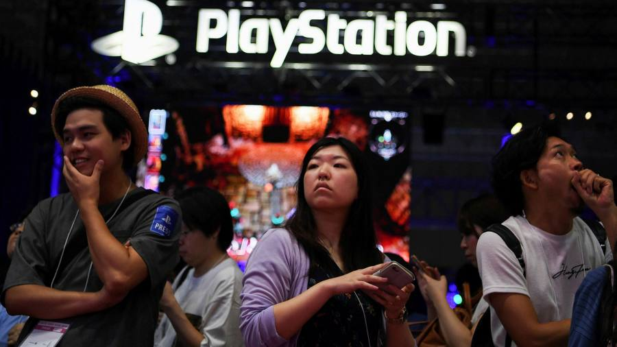 Sony Sets 100m Sales Target For New Playstation 5 Console Financial Times