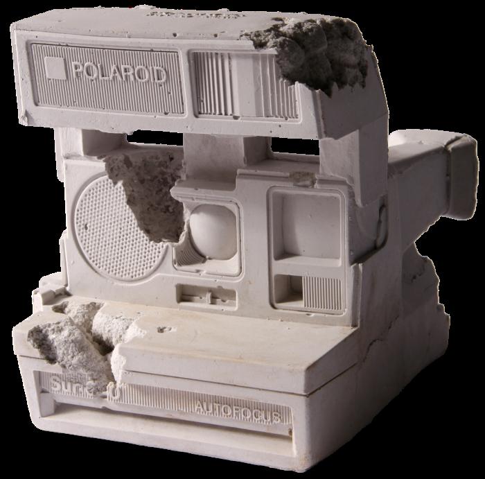 Future Relic 06: Polaroid camera, 2016 edition