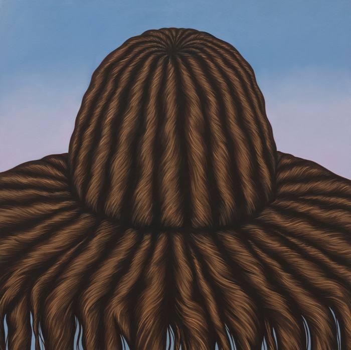 Julie Curtiss, Hairy Hat, 2017