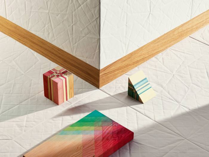 Folded tile by Raw Edges for Mutina, from £108 per sq m, from Tile Expert
