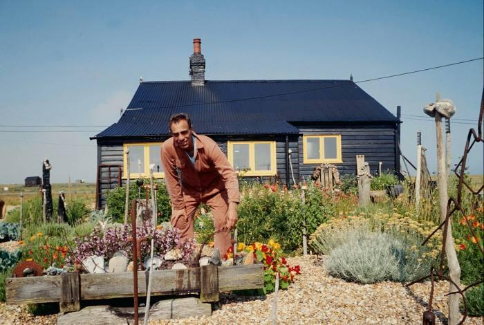Derek Jarman at Prospect Cottage