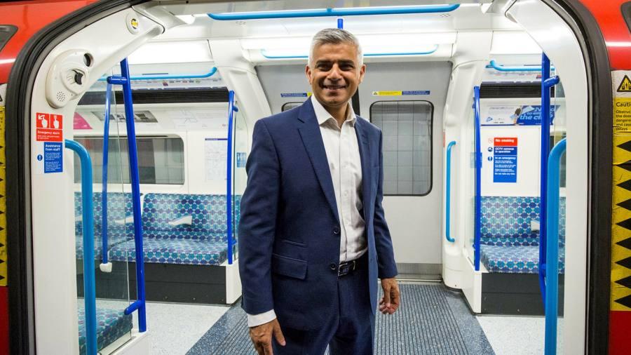 Sadiq Khan sets out £5.7bn TfL rescue plan for London
