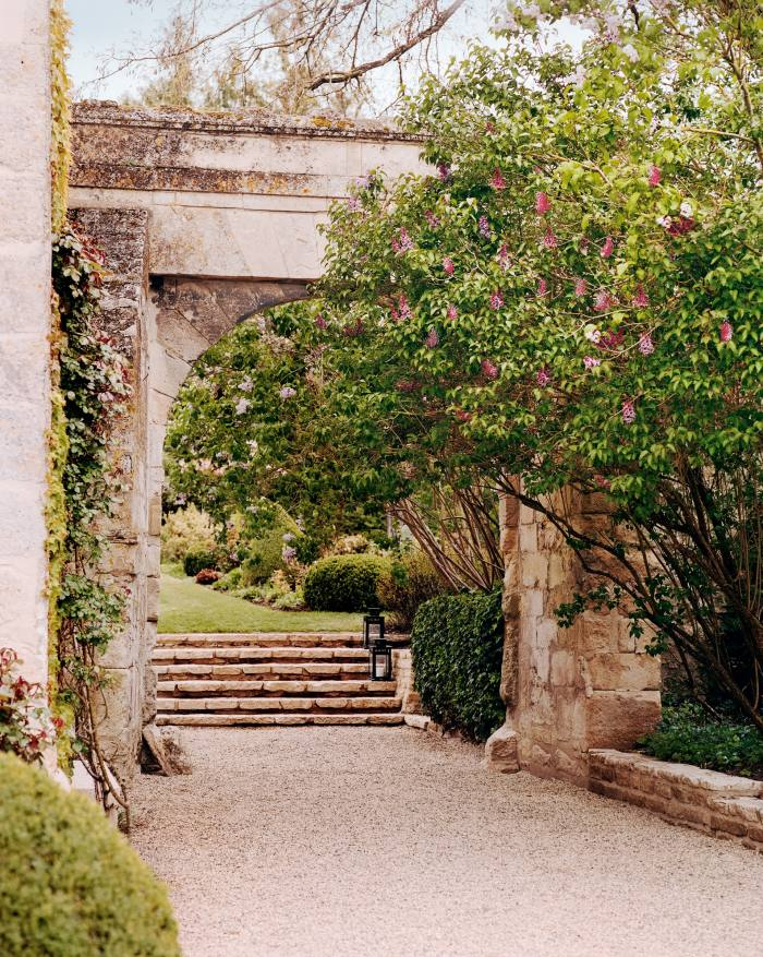 The arch attached to the main house, parts of which date back to the 15th century