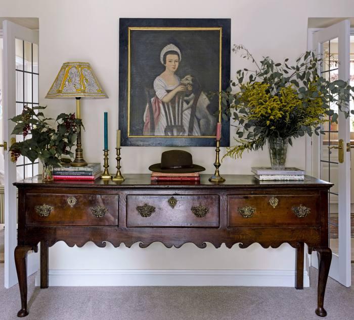 Inside Burdus' cottage in Churchill