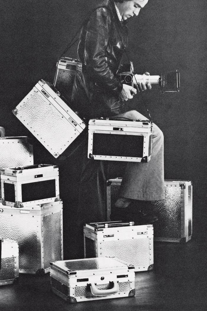 Rimowa advert for camera cases, c1977