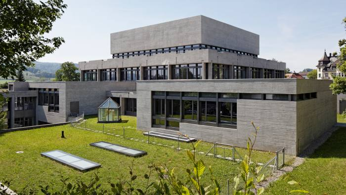 Rooms at the top: rankings leader the University of St Gallen