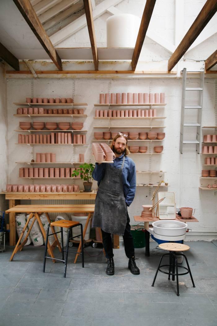 London ceramicist Florian Gadsby