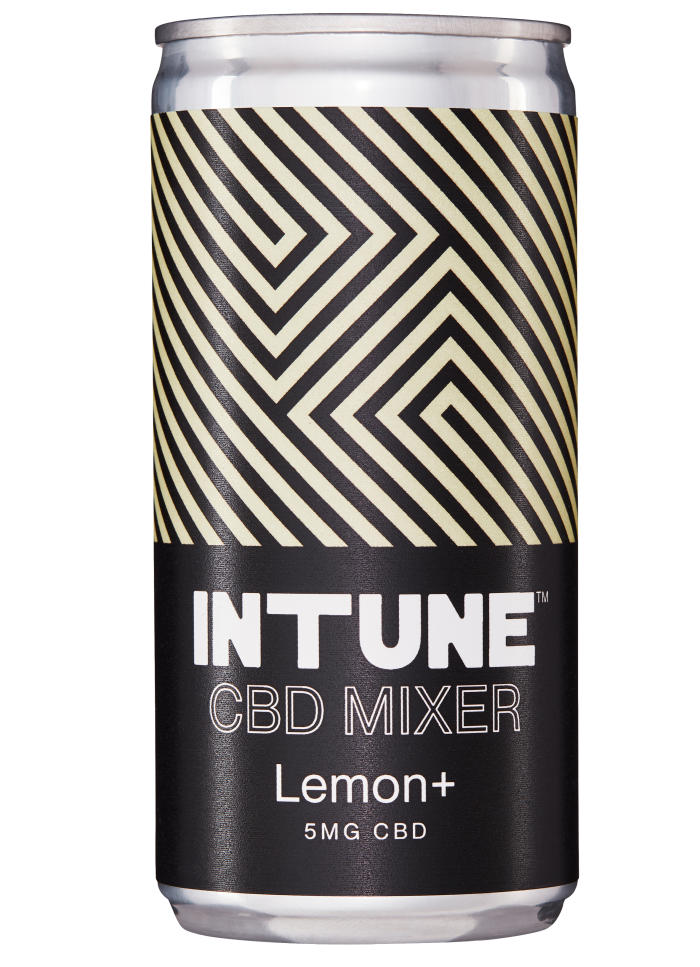 Intune CBD Mixer Lemon+, £1.45for200ml