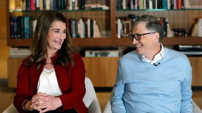 Bill and Melinda Gates © AP