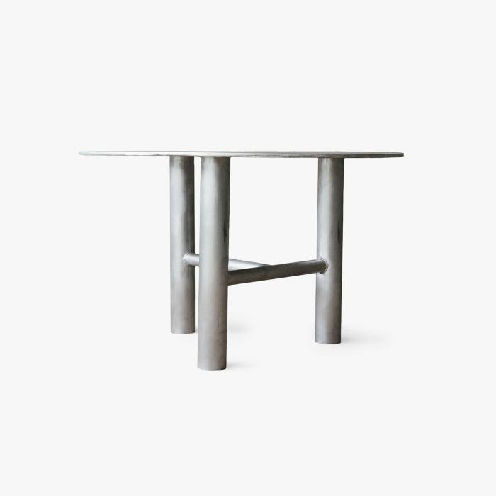 Aluminum Round Table by Green River Project