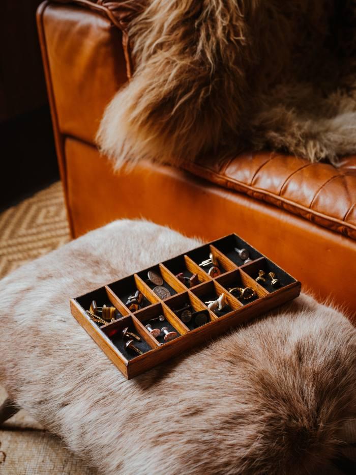 Fulk's cufflinks collection