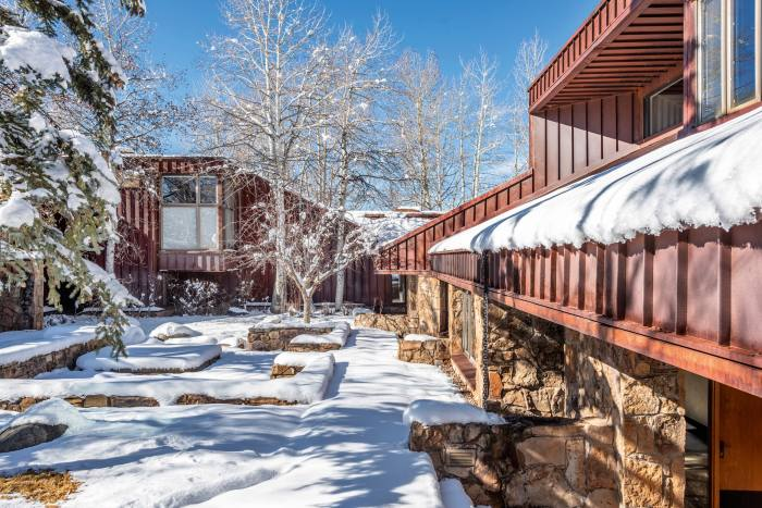 A five-bedroom property in Aspen, Colorado, $30m at Knight Frank