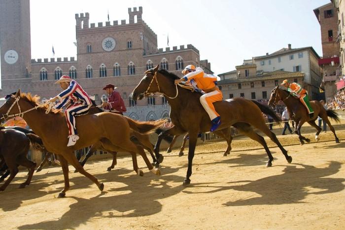 The Palio di Siena horse race